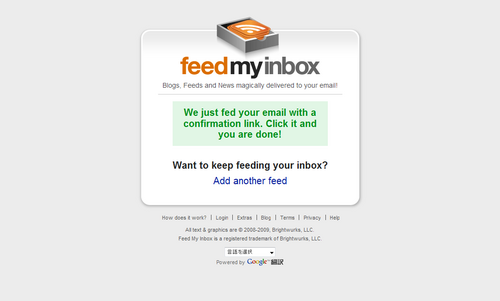 FireShot capture #064 - 'Feed My Inbox ~ RSS to Email ~ Feed to Email' - www_feedmyinbox_com_feeds_success.png